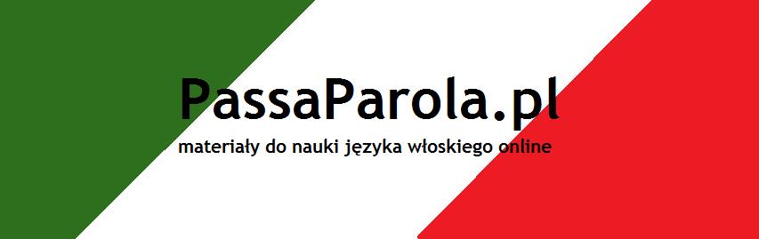PassaParola: Materiały do nauki języka włoskiego